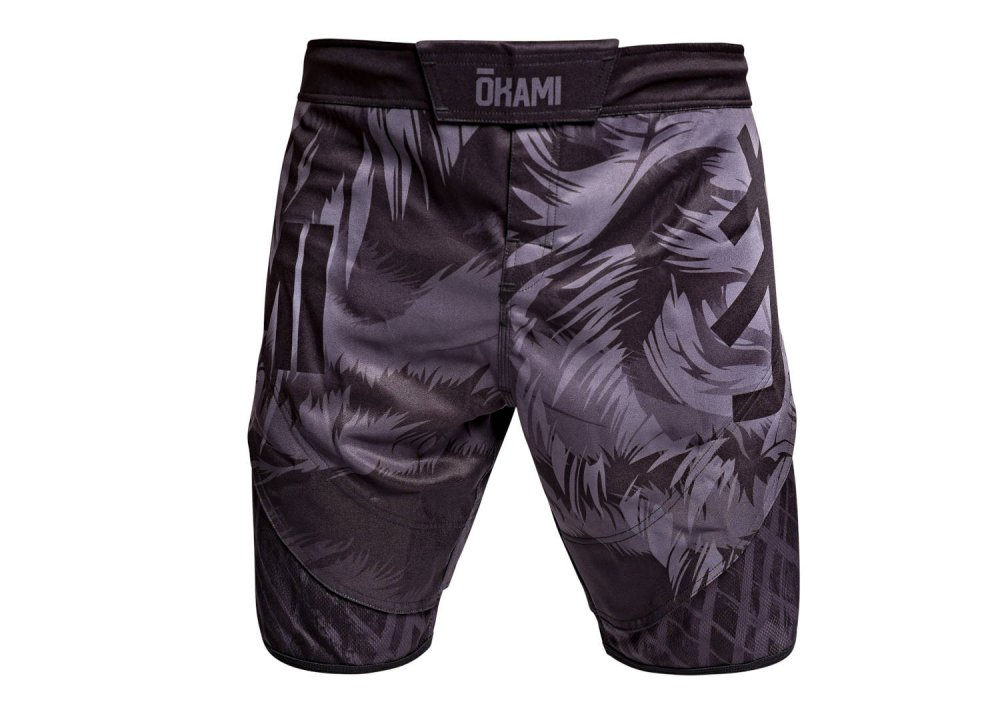 Okami Fight Shorts Wilderness