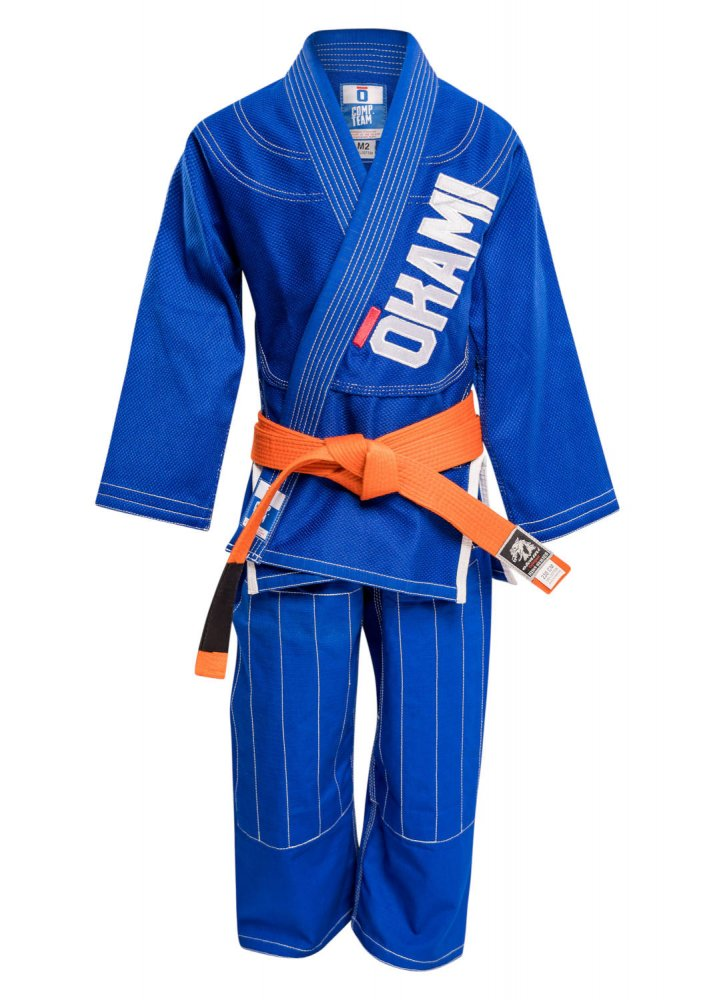 Okami Kids Gi Competition Team blue