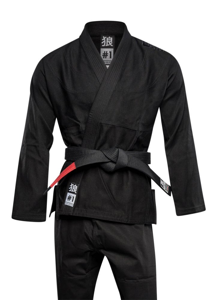 Okami BJJ Gi Set Spirit - black