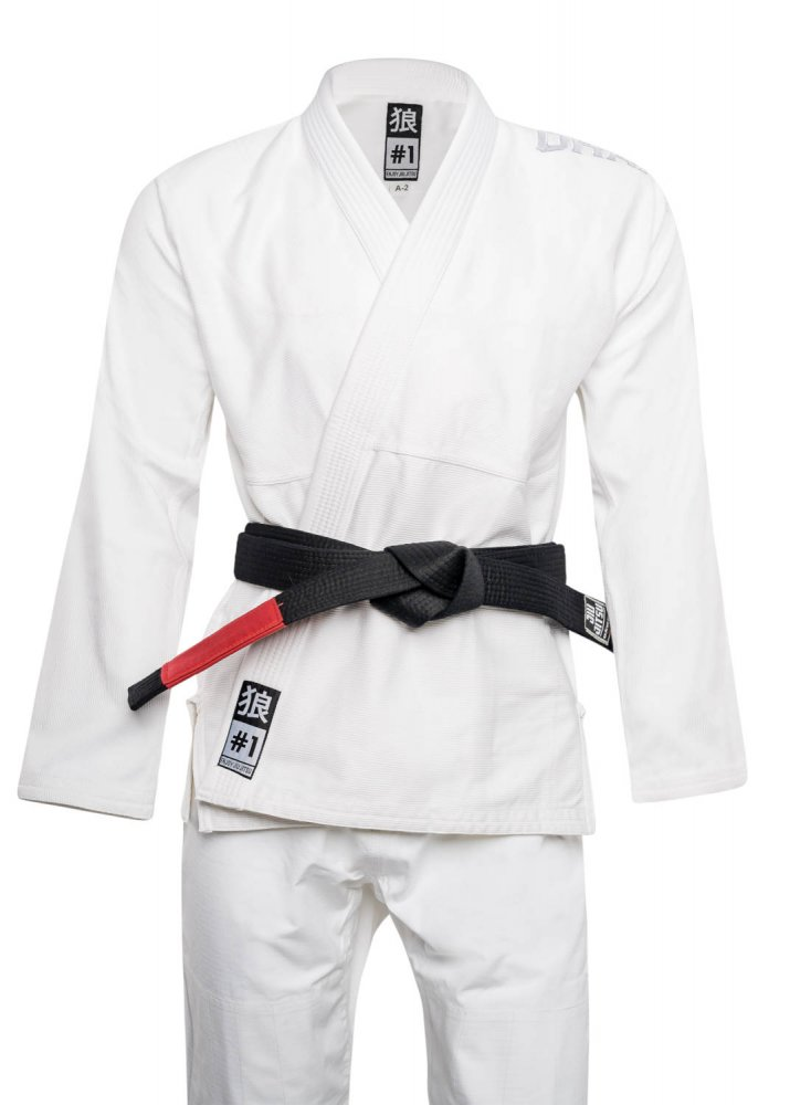 Okami BJJ Gi Set Spirit - white