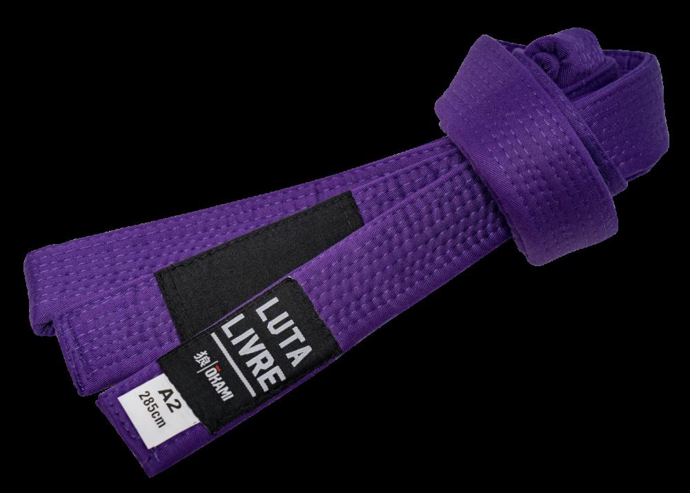 Okami Luta Livre Belt - purple