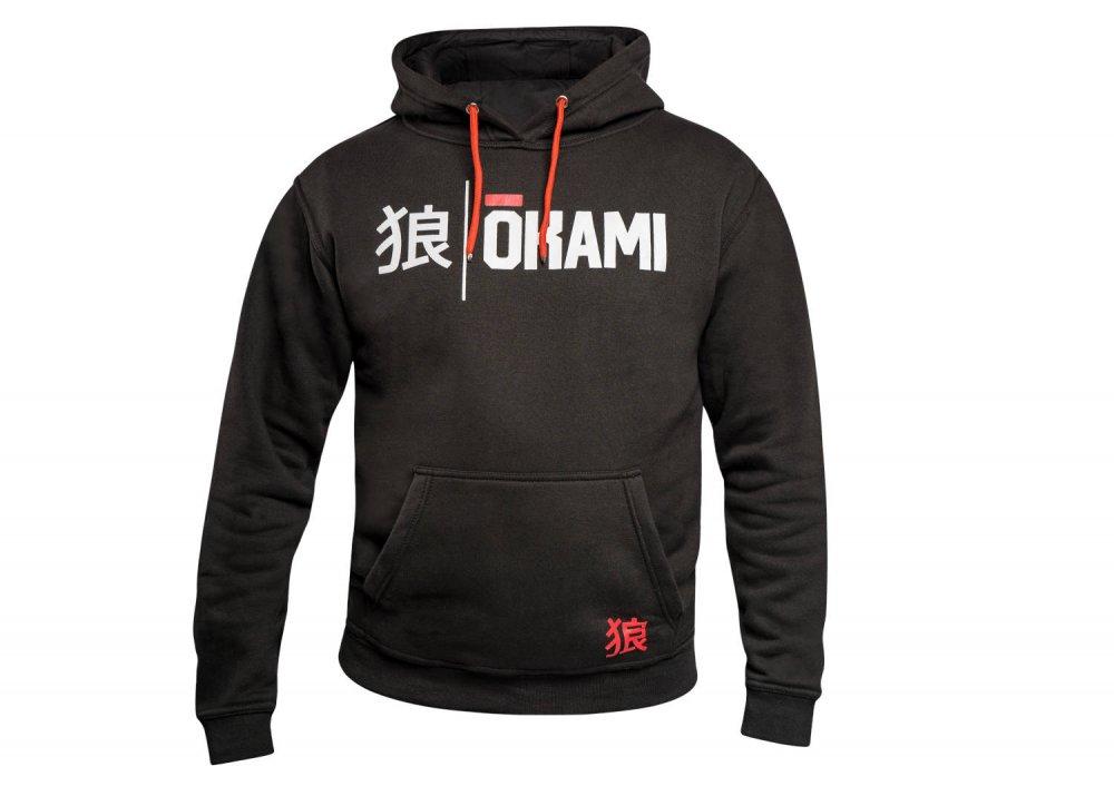 Okami Hoodie Kanji - black