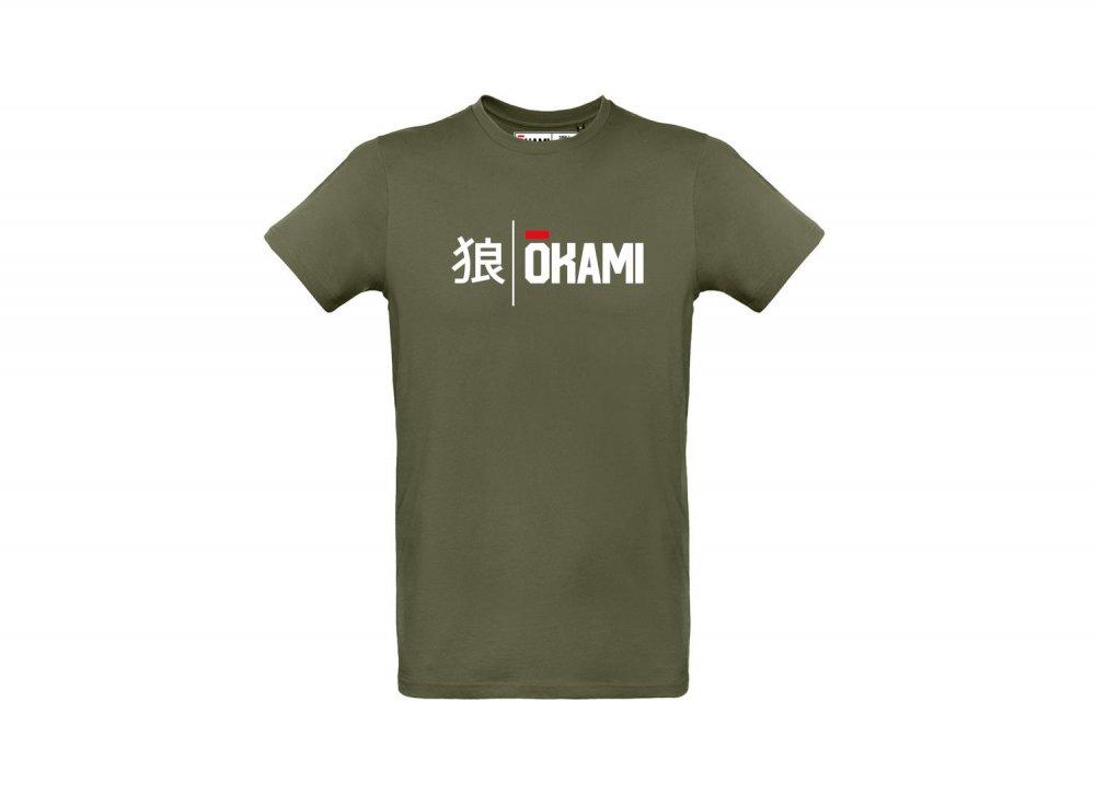 Okami T-Shirt Kanji - khaki
