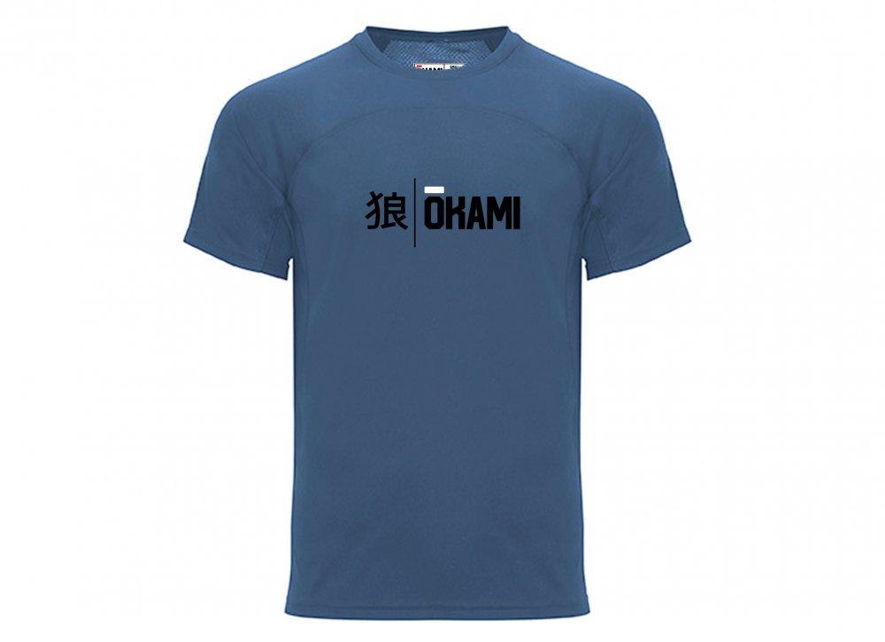 Okami Athletic Shirt Workout - navy