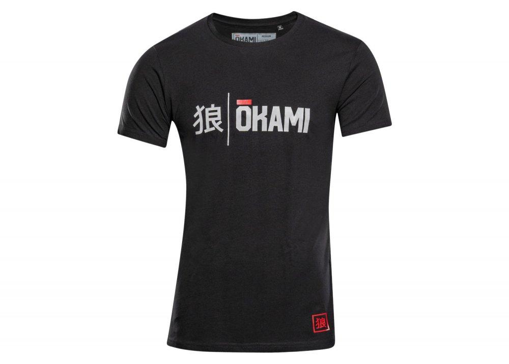 Okami Organic T-Shirt Kanji black