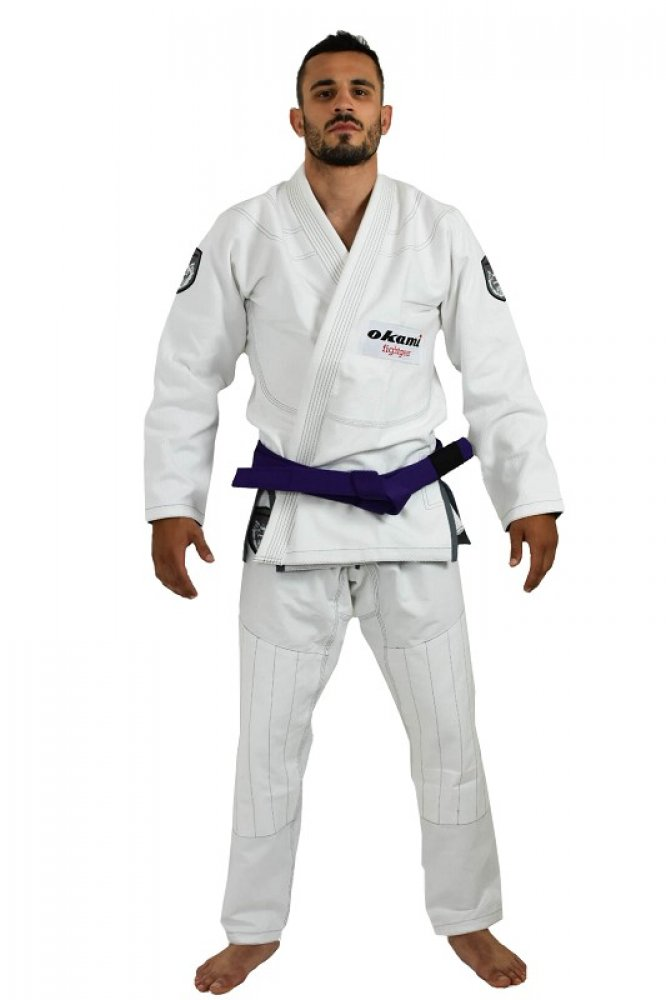 SALE okami BJJ Gi Set Shield + white belt