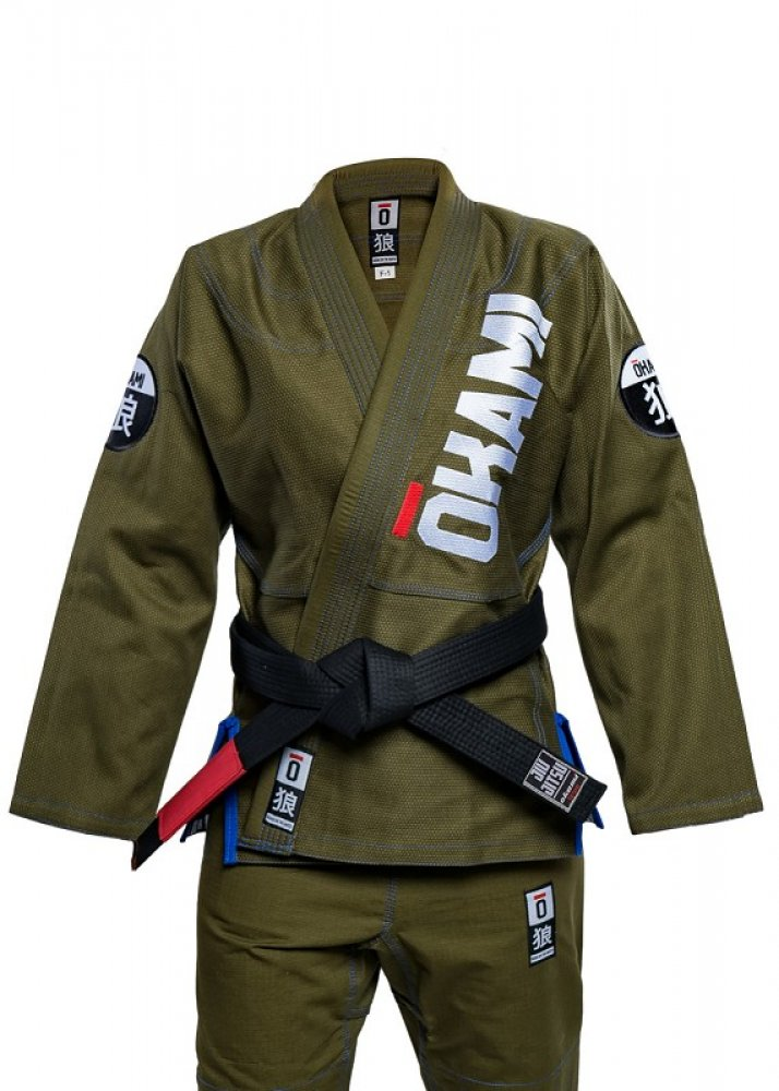 SALE okami Ladies Competition Training Gi olive
