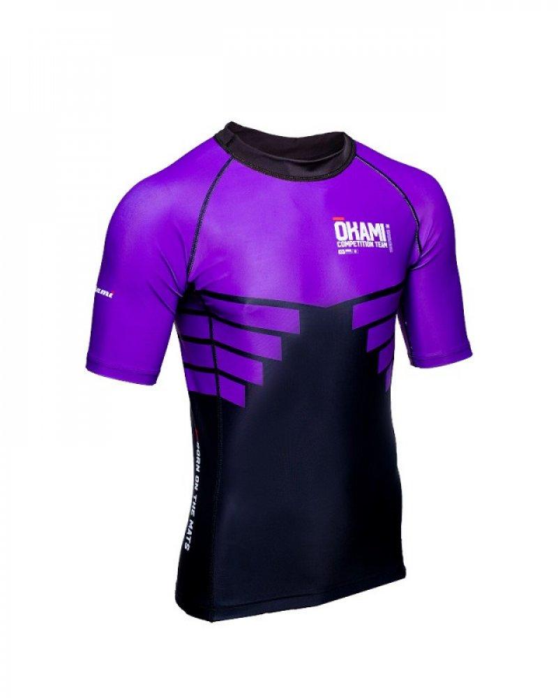 okami Competition Team Rashguard Purple