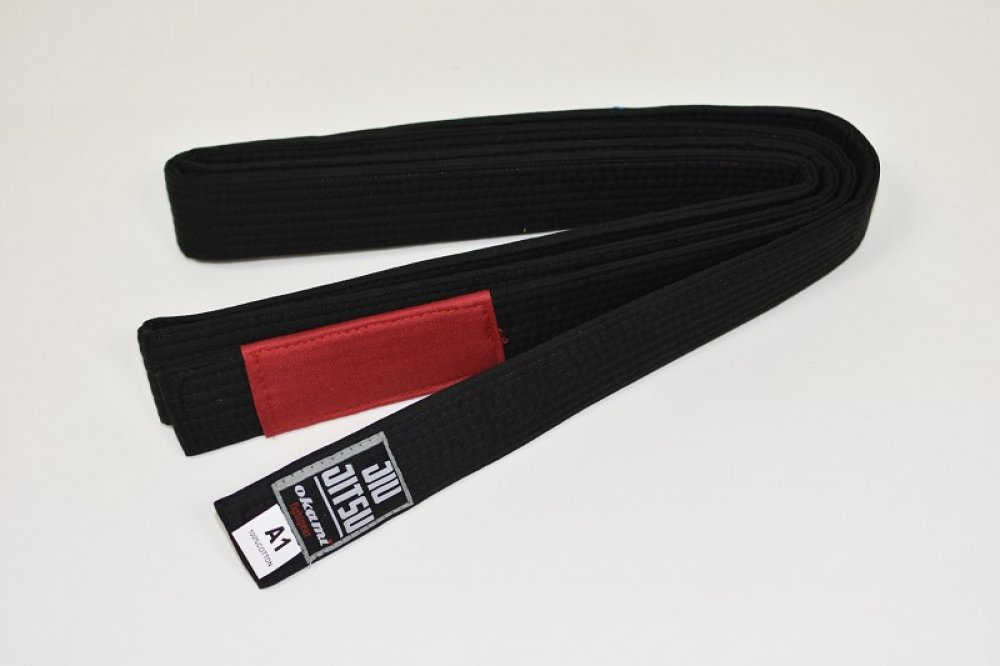 Okami fightgear BJJ Belt - black