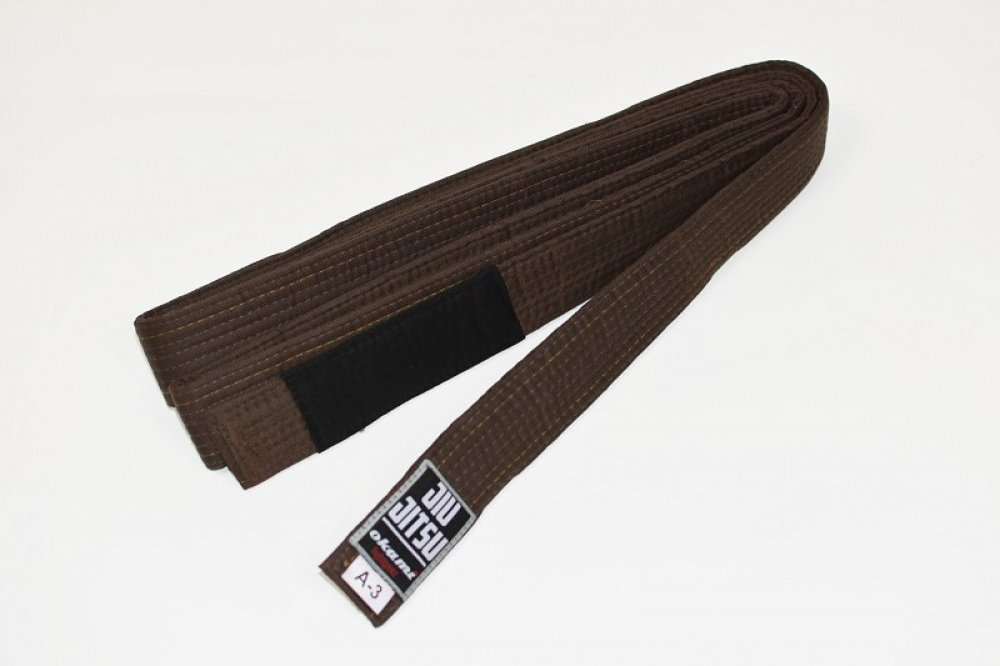 Okami fightgear BJJ Belt - brown