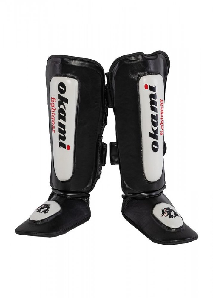 Okami fightgear DX Puppies Thai Shin Pads (XXXS)