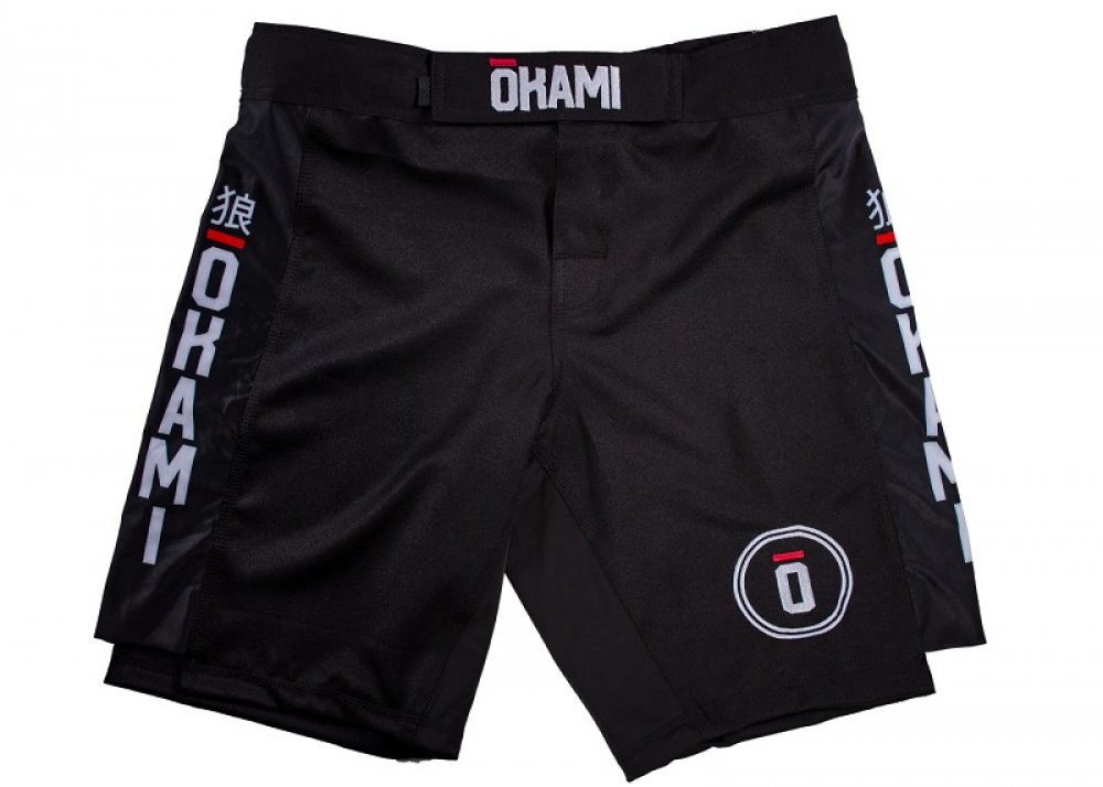 Okami Competition Fightshorts Black