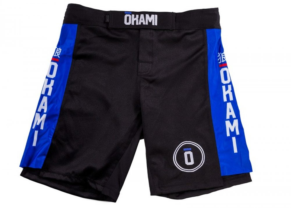 Okami Competition Fightshorts Blue