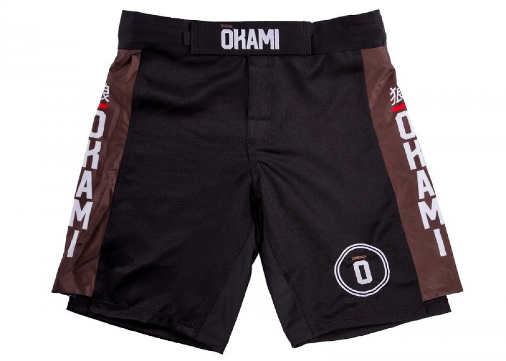 Okami Competition Fightshorts Brown