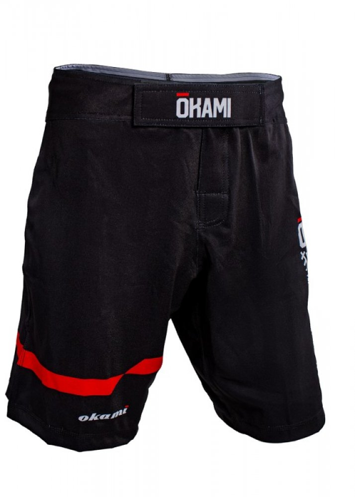 Okami fightgear Competition Fightshorts Basic Black #1
