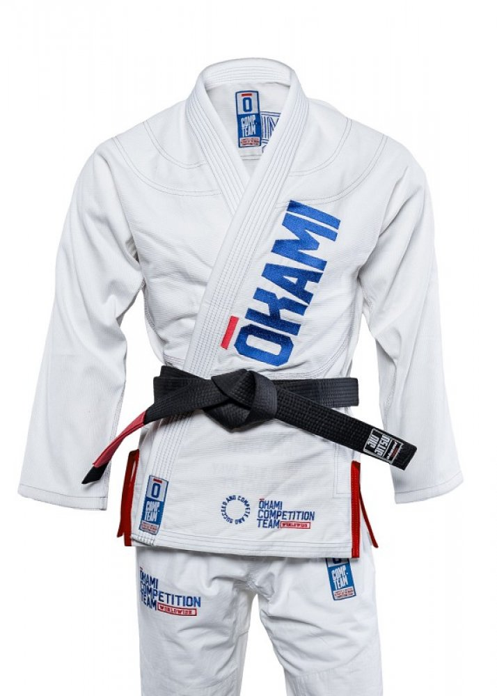 okami fightgear Competition Team Gi white